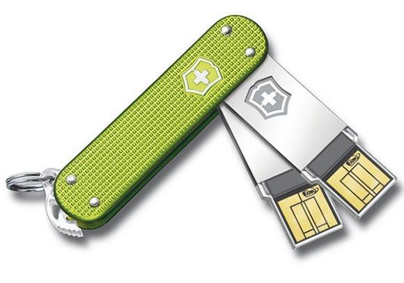 Swiss Army Slim USB Flash Drives