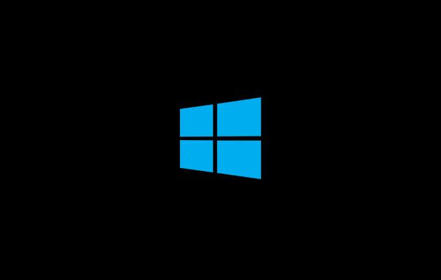 windows-logo-on-black-screen