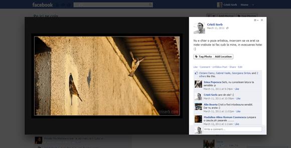facebook si-a schimbat modul de afisare a pozelor