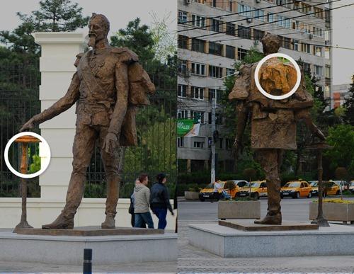 Statuie Alexandru Ioan Cuza - Parc IOR